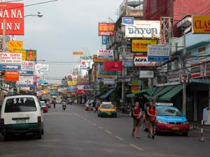 Bangkok, Thailand - Khao San Road in Early Morning