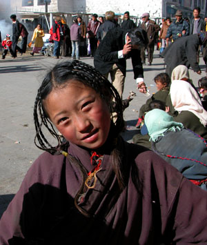 Lhasa, Tibet - Faces of Losar (Tibetan New Year)