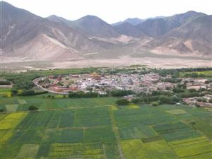 Samye, Tibet - From Hepo Ri