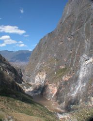 Northern end of Tiger Leaping Gorge