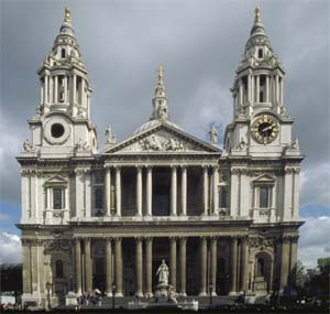 London, England - St. Pauls Cathedral