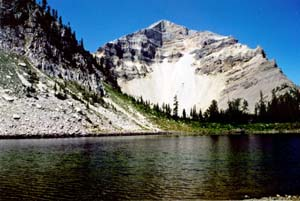 Montana - Bob Marshall Wilderness, Pentagon Mountain