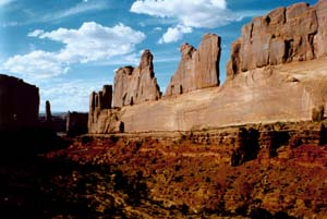 Utah - Arches National Park, Park Avenue