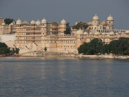 Udaipur city palace and hotel