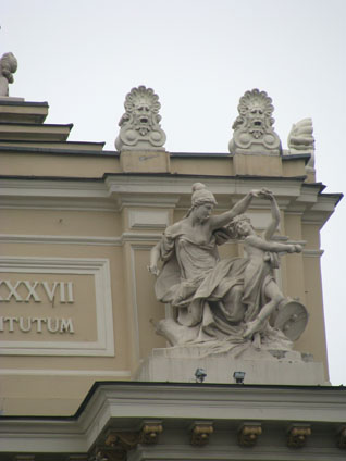 Odessa, Ukraine - Exterior of Opera and Ballet Theater