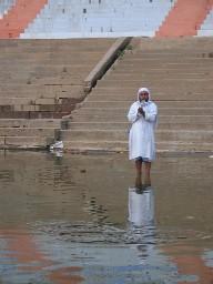 Varanasi worshipper