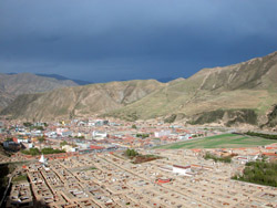Labrang after the rain