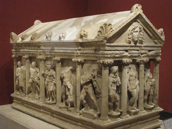 Antalya, Turkey - Museum Sarcophagus