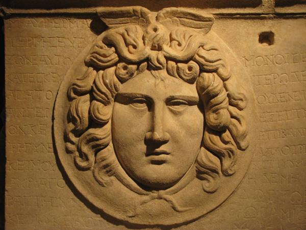 Antalya, Turkey - Museum Sarcophagus Detail