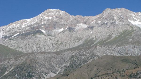 Mountains Above Arslanbob, Kyrgyzstan