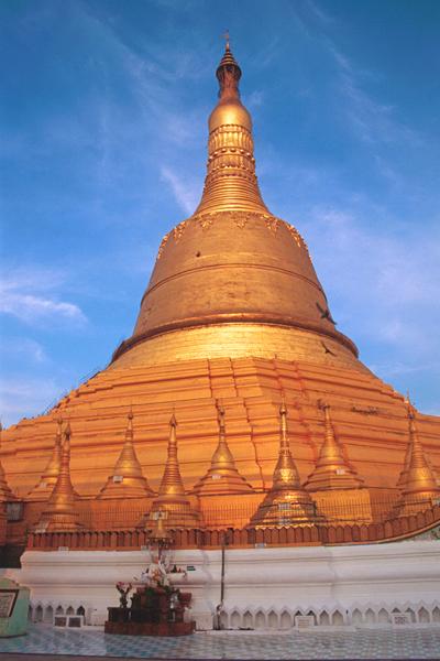 Golden Pagoda in Bago, Myanmar (Burma)