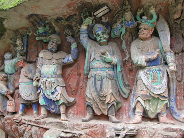 Rock Carvings of Baoding Shan, China