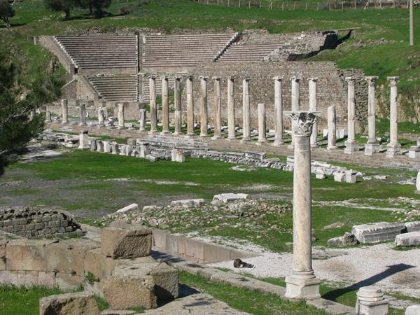 Bergama, Turkey - Asclepion Ruins