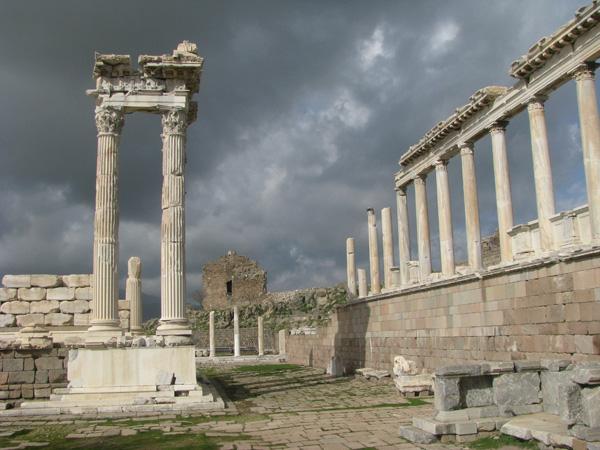 Bergama, Turkey - Pergamum Acropolis Ruins