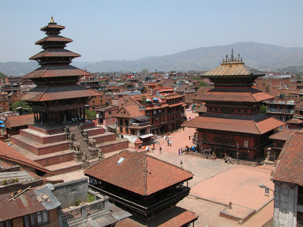 Pagodas of Bhaktapur, Nepal