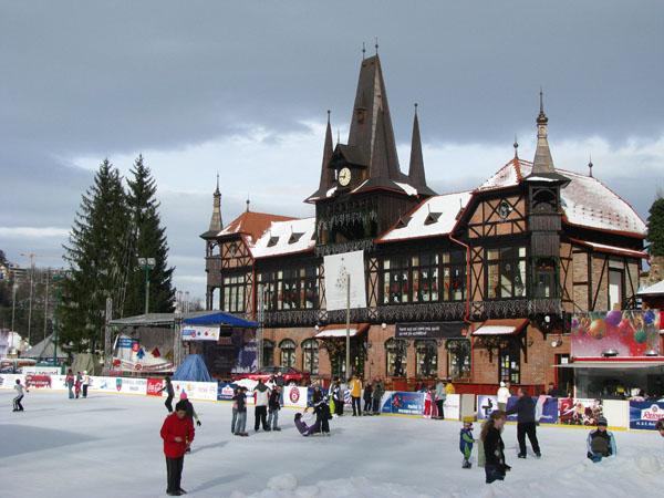 Brasov, Romania - Ice Rink