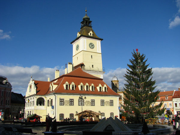 Brasov, Romania - A Few Days After Christmas 2009