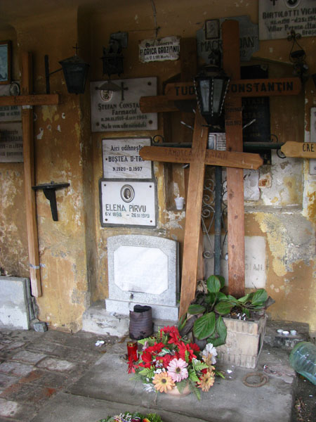 Brasov, Romania - Saint Nicholas Church Cemetery