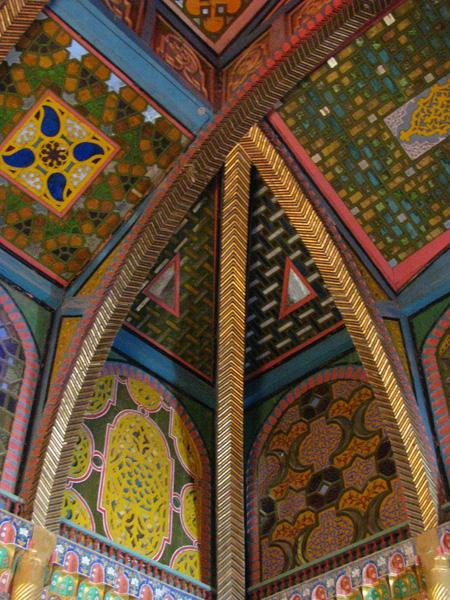 Bukhara, Uzbekistan - Sitorai Mohi Hosa (Emir's Summer Palace) Details