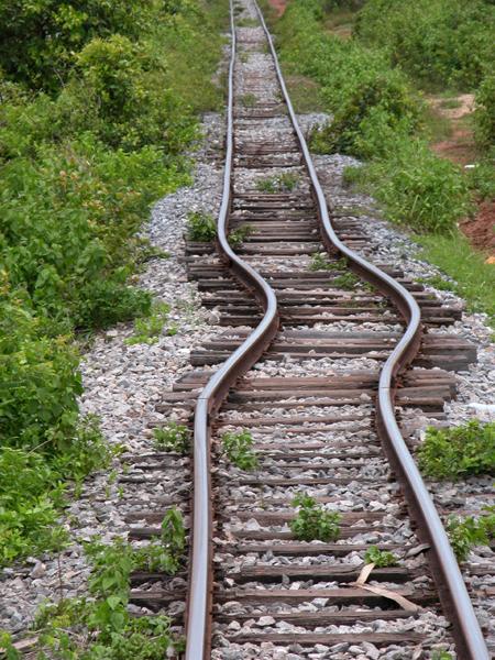 Danger - Curves Ahead?Train Travel in Cambodia