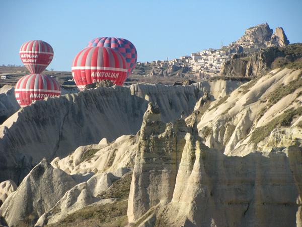 Cappadocia, Turkey - Ballooning