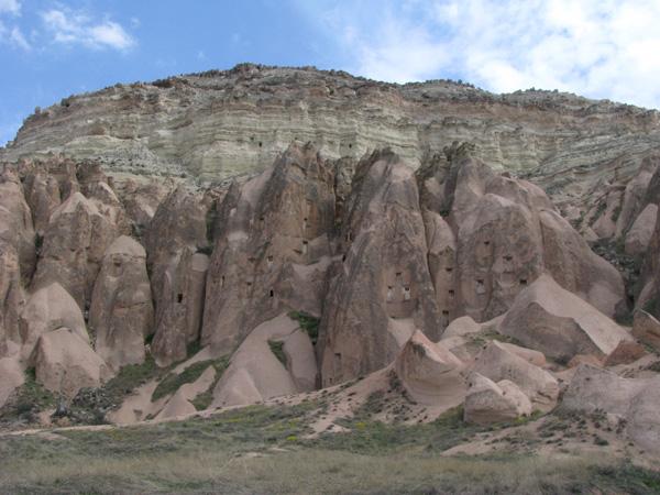 Cappadocia, Turkey - Between Cavusin and Pasabag