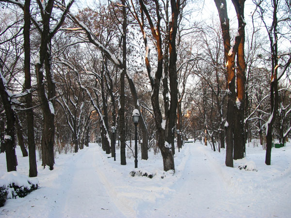 Chisinau, Moldova - A Nice Walk through Stefan cel Mare Park?