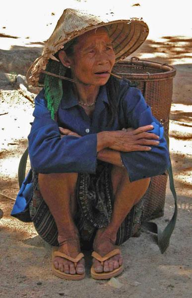 Rural Vietnamese Woman