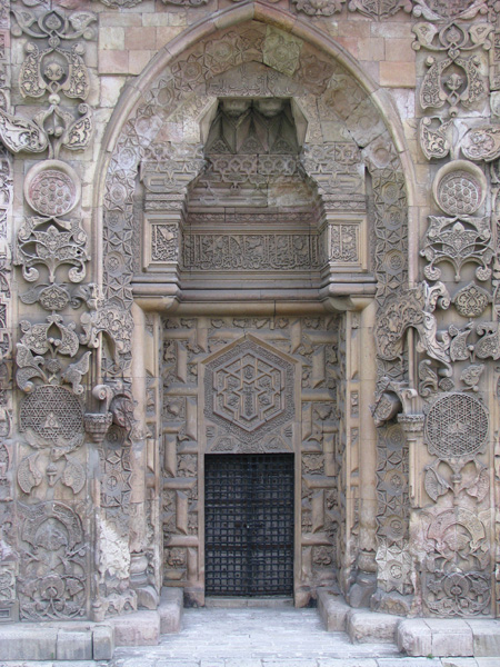 Divrigi, Turkey - Great Mosque Ornate Door Detail