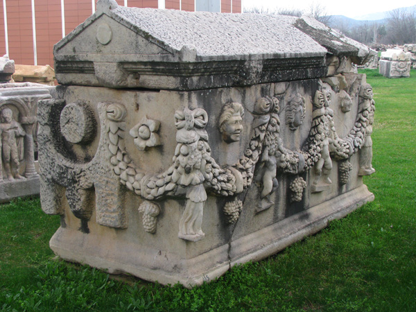 Geyre, Turkey - Afrodisias Sarcophagus