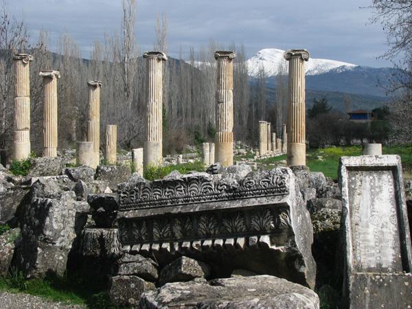 Geyre, Turkey - Afrodisias South Agora