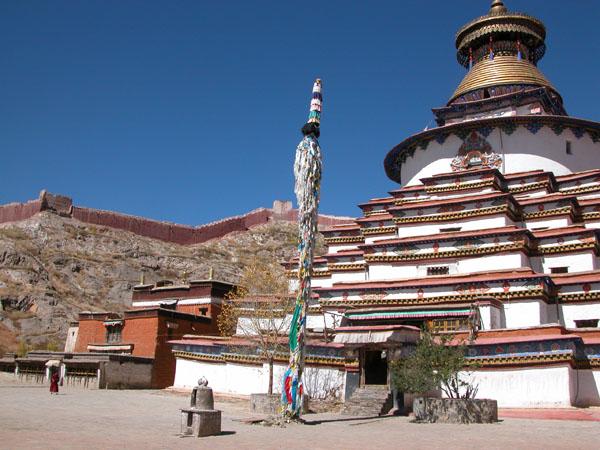 Kumbum in Gyantse, Tibet