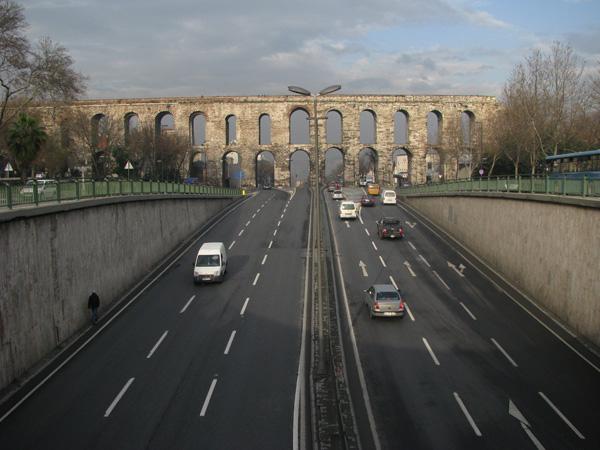 Istanbul, Turkey - Aqueduct of Valens