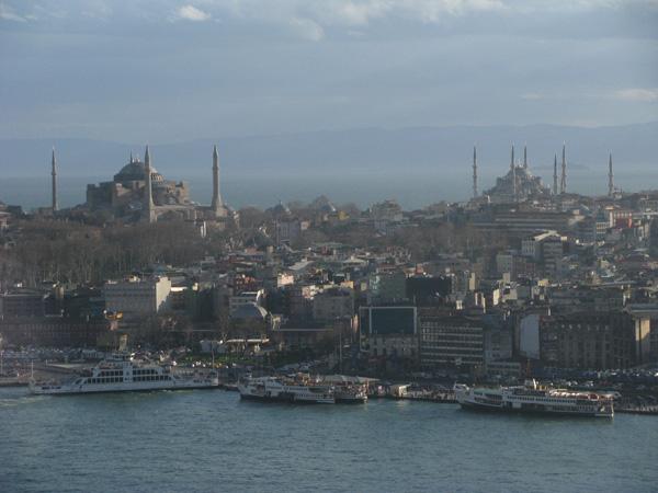 Istanbul, Turkey - Aya Sofya and Blue Mosque