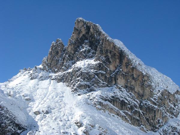 Cortina d' Ampezzo area of Italian Dolomites