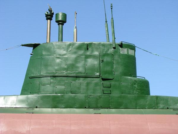 Jeongdongjin, South Korea - Unification Park North Korean Submarine