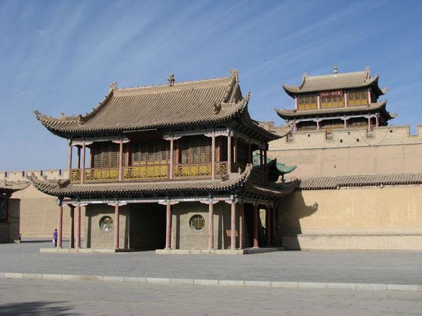 Jiayuguan, China - Fortress