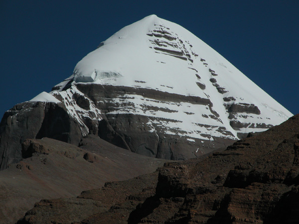 South Face of Mt. Kailash in Tibet