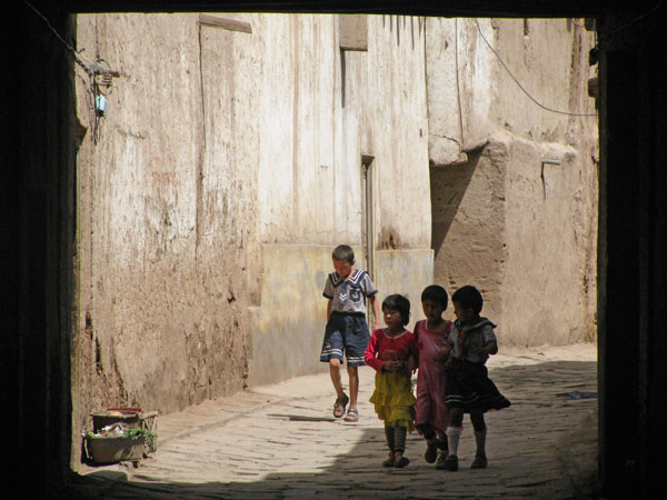 Kashgar, China - Old Town