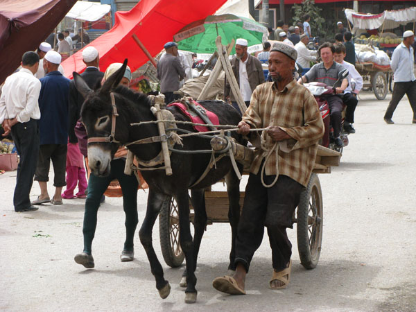 Kashgar, China - Whooooa!