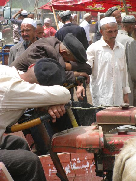 Kashgar, China - A Long Day at the Sunday Livestock Market