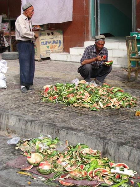 Kashgar, China - Sunday Market