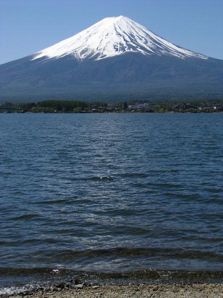 Mt. Fuji from Kawaguchiko, Japan