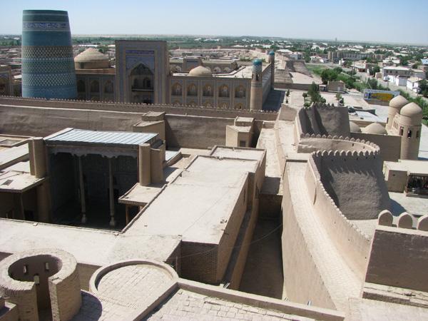 Khiva, Uzbekistan - Kuhna Ark and City Wall