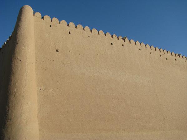 Khiva, Uzbekistan - Old Town City Wall