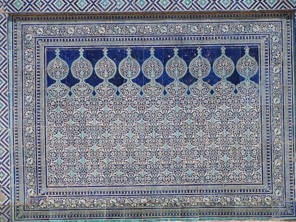 Khiva, Uzbekistan - Tosh Hovli Palace Detail