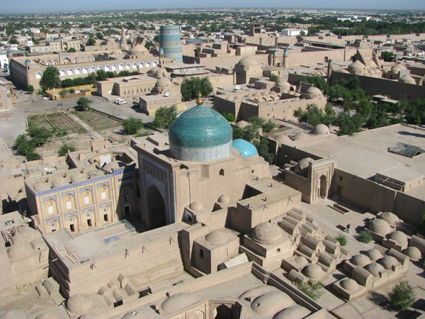 Khiva, Uzbekistan - View from Islom Hoja Minaret