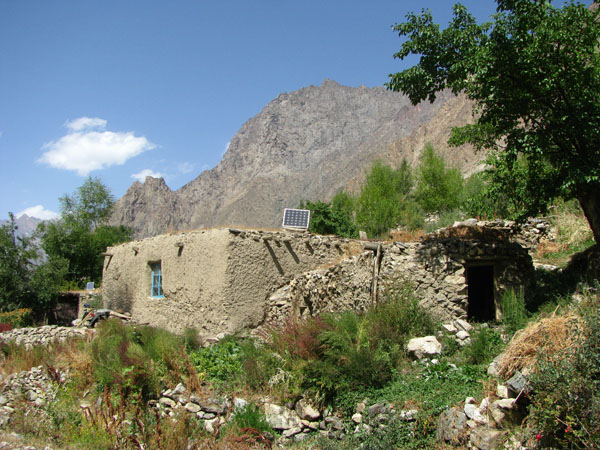 Geisev Valley in Tajikistan