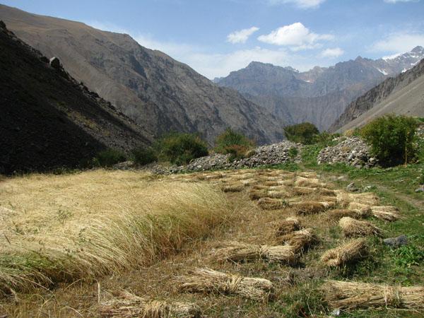 Geisev Valley in Tajikistan
