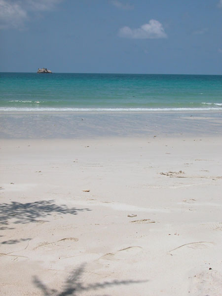 Thai Beach on the Island of Koh Samet